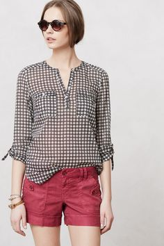 I'd wear this if I were in a 1968 French film (with cat eye sunglasses, of course). Tulipanes Henley - Anthropologie.com