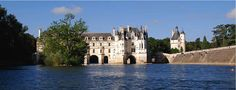 This French castle with a waterside view is perfect for a destination wedding.