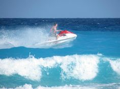 Beach Palace: Jet ski rentals nearby
