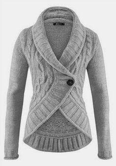 Cute grey warm sweater for ladies fashion | Fashion World