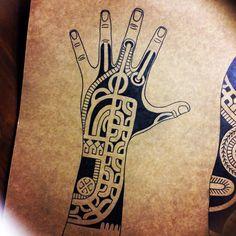 Marquesan tattoo, tatatu, polynesian tattoo #marquesantattoosdesigns #marquesantattoosblack #marquesantattoosart