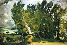 Chaim Soutine - Windy Day Auxerre