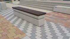 betónová lavíčka Outdoor Furniture, Outdoor Decor, Tile Floor, Ottoman, Patio, Flooring, Home Decor, Homemade Home Decor, Yard