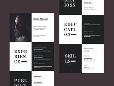 50 Inspiring Resume Designs: And What You Can Learn From Them – Design School If you like this design. Check others on my CV template board :) Thanks for sharing! Resume Layout, Resume Format, Resume Tips, Resume Cv, Resume Examples, Resume Ideas, Cv Ideas, Brochure Ideas, Curriculum Vitae Download