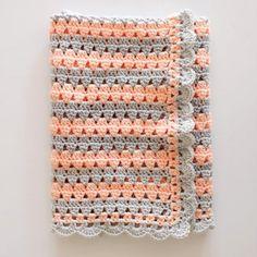 Modern Crochet Granny Blanket - Free Pattern