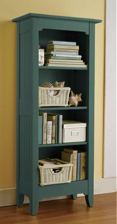 Bookcase- Like the detailing on top.