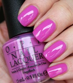 Opi super cute in pink opi pink nail polish, opi nail colors, pink Opi Pink Nail Polish, Opi Nail Colors, Pedicure Colors, Opi Nails, Fancy Nails, Cute Nails, Pretty Nails, Short Nail Manicure, Manicure Y Pedicure