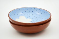 Set of 2 Cloud Bowls - Handmade bowls - Terracotta Bowls - Ceramics and Pottery - Homewares - Ceramics