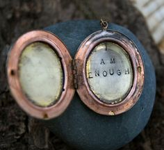 Love.  One of my favorite Etsy sellers. She has many lovely lockets and phrases -- or choose your own.