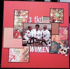 3 tkd WOMEN - Scrapbook.com