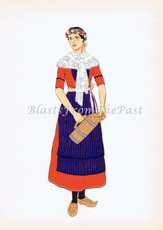 Traditional Basque woman