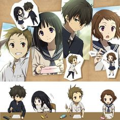 Hyouka. this is cute !!