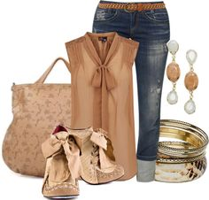 """""""Spring Favorite(Casual)"""" by hope-houston on Polyvore  minus the shoes"""