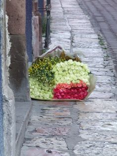 Say it with flowers... by your front door!