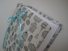 Photo Album  Twitter Bird Cages  Handmade and Gift by CoutureLife