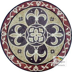 MD009 Marble Mosaic Medallion