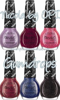 Nicole by OPI Limited Edition Gumdrops Nail Lacquers!