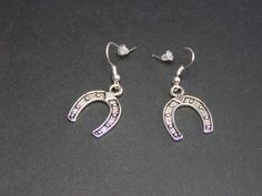 boucles d'oreilles fer a cheval de Jewelry fimo sur DaWanda.com