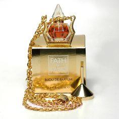 Jacques Fath FATH DE FATH Parfum 3.5 ml 0.12 Oz Limited Edition Perfume Pendant