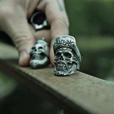 Rebel Supreme is handmade jewelry done with old world craftsmanship. We are rebels by nature, and it is with this passion, effort & love that every piece is forged. Handmade Rings, Handmade Jewelry, Mens Skull Rings, Old World, Rebel, Supreme, Hand Carved, Effort, Rings For Men