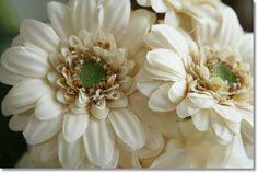 【楽天市場】◆ウィルガーベラ(バニラ)1本【造花・アートフラワー】:ナチュラル雑貨と造花の店チアフル