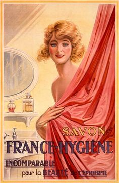 Soap For Beauty ~ 1920s French ad