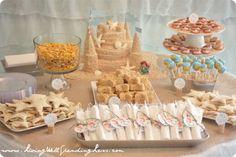 """Como hacer una tarta """"castillo de arena""""… ¡comestible!"""