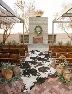 Save this for major boho rug aisle wedding decor inspiration.