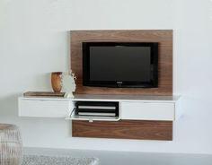 Mesa De Tv Flotante - Panel Lcd Led Puertas - Modular Cubos - $ 1.400,00