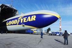 Goodyear Art Airship First Flight