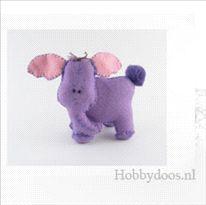 olifantje van vilt in het Nederlands