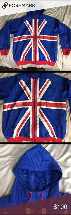 Nike Olympic Great Britain 🇬🇧 windbreaker *rare* Men's Large, worn, good condition, rare / hard to find Nike Jackets & Coats Windbreakers