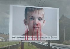The concept for this powerful billboard design came from New Zealand-based creative agency ColensoBBDO. The team was approached by South Auckland local government bodies with a brief to create a design that would lower the number of fatal accidents on the road.