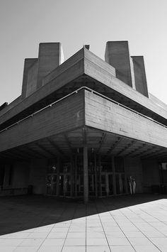 Royal National Theatre, Southbank. London, Oct 2011.