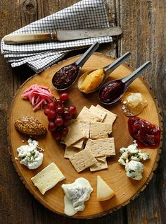Beautiful cheese plate