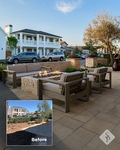 Outdoor Areas, Outdoor Rooms, Outdoor Living, Outdoor Kitchens, Diy Patio, Backyard Patio, Backyard Landscaping, Fire Pit Plans, Sidewalk Cafe