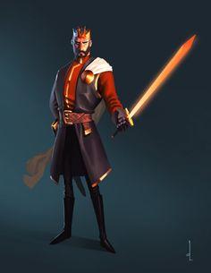 GOT Artjam - Stannis Baratheon by omarito, via deviantart