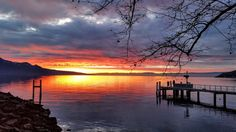 Vevey Vevey, Switzerland, Celestial, Sunset, Photo And Video, Outdoor, Outdoors, Sunsets, Outdoor Games