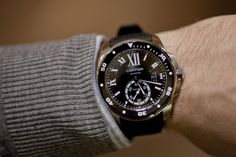 Pre-SIHH 2014: Introducing The Calibre de Cartier Diver, A True In-House Tool Watch From Cartier (Live Pics & Details) — HODINKEE - Wristwat...