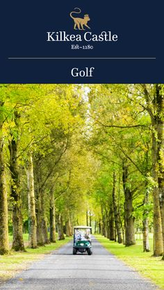 Kilkea Castle is the perfect location for golfers and nature lovers!
