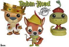 Robin Hood Pop! Vinyl Figures