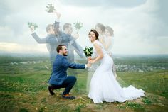 Multiexposition Wedding photo stack by Evgeniy Maynagashev on MyWed