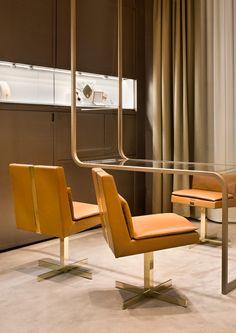 Faraone jewellery boutique by Iosa Ghini Associates, Milan store design
