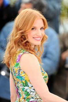 Jessica Chastain such a beautiful and talented actress....The HELP, LAWLESS, ZERO DARK THIRTY, etc