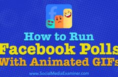How to Run Facebook Polls With Animated GIFs http://www.charlesmilander.com/news/2017/11/how-to-run-facebook-polls-with-animated-gifs/ Start making money online. http://amzn.to/2hGcMDx