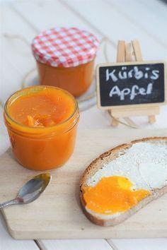 Pumpkin and apple jam - Marmelade - Pumpkin Bread, Pumpkin Spice, Apple Bread, Pumpkin Pumpkin, Healthy Pumpkin, Pumpkin Cookies, Chip Cookies, Pumpkin Carving, Apple Jam