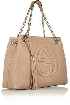 Sand textured-leather (Calf) Lobster clasp fastening at top Designer color: Camelia