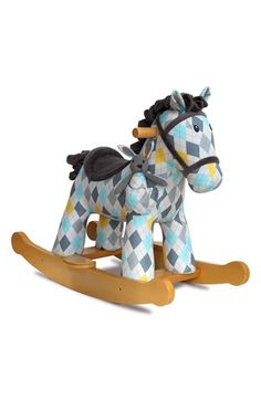 Lewis & Fitz Rocking Horse, now available on Nordstrom