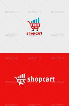 Buy Shop Cart Logo by descarteshouston on GraphicRiver. A simple and excellent logo template suitable for a shop, store, website, e-commerce, etc. Logo Desing, Logo Design Template, Logo Templates, Branding Design, Shopping Cart Logo, Cart Icon, Life Logo, Star Logo, File Format