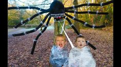 Giant Mom Spider Attacks Girl & Boy -Daddy Spider in Forest - Freaky Toy. Giant Spider, Daddy, Toy, Youtube, Giant Huntsman Spider, Toys, Youtube Movies